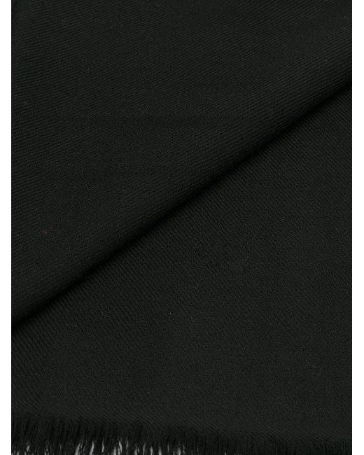 Ultrafine Pashmina Shawl scarf - Black N.Peal tQYgGMR