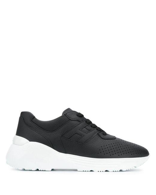 Hogan - Black Wedge Sole Sneakers for Men - Lyst