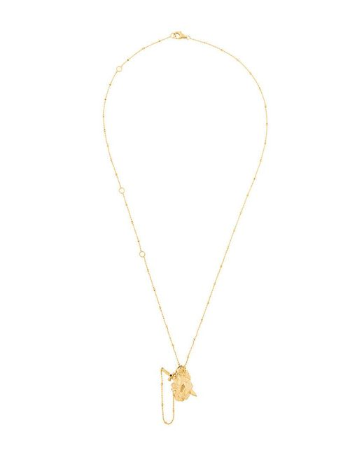 Kasun - Metallic Vampire Heart Pendant Necklace for Men - Lyst