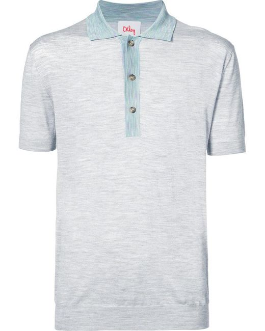 Orley | Gray Classic Polo Shirt for Men | Lyst