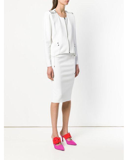 zipped jacket-dress - White Tom Ford 1dAHuOH