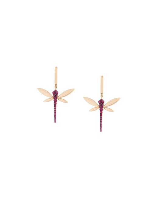 Anapsara | Metallic 'dragonfly' Earrings | Lyst