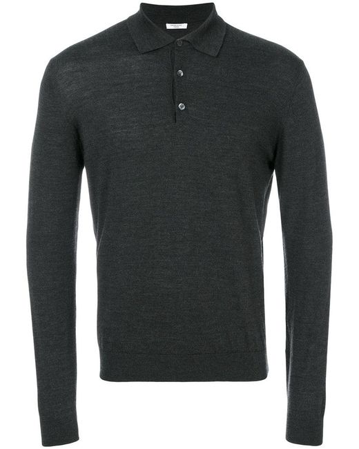 Fashion Clinic Timeless | Gray Henley Jumper for Men | Lyst