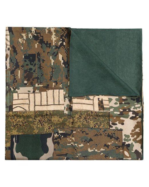 Pierre Louis Mascia   Multicolor Camouflage Print Scarf   Lyst