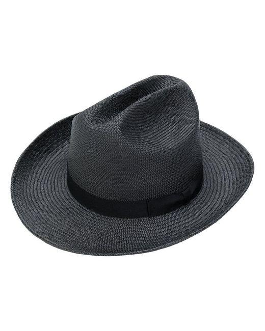 Neighborhood - Gray Straw Trilby Hat for Men - Lyst