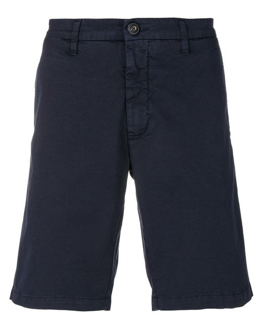 Eleventy - Blue Classic Chino Shorts for Men - Lyst