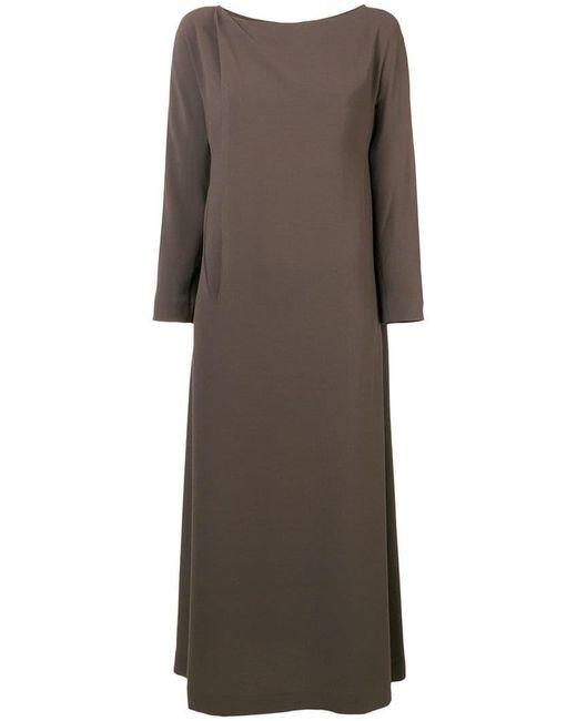 Chalayan - Brown A-line Midi Dress - Lyst