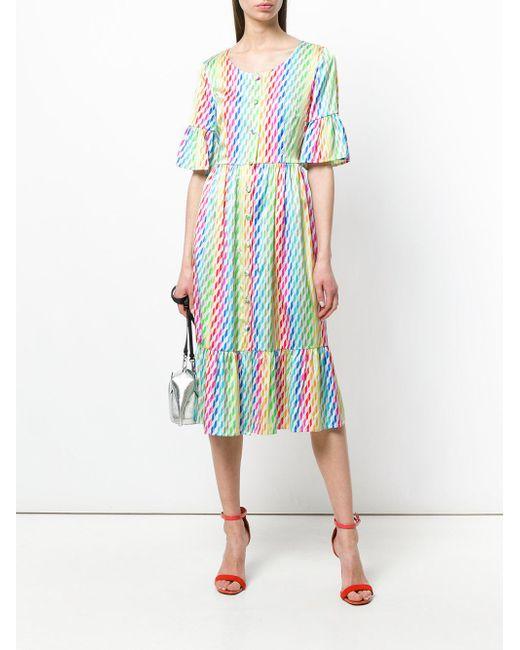 striped shirt dress - Multicolour Ultra Chic GQRv2Kx