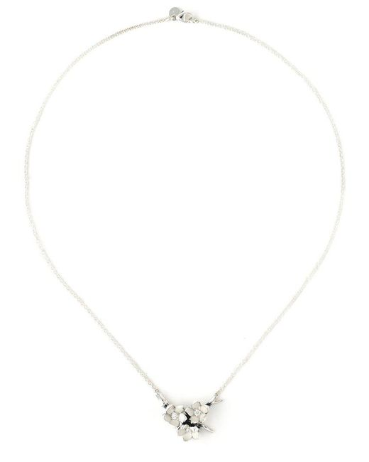 Shaun Leane - Metallic 'cherry Blossom' Diamond Necklace - Lyst