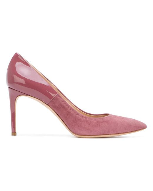 Casadei | Pink Two-tone The Perfect Pump Pumps | Lyst