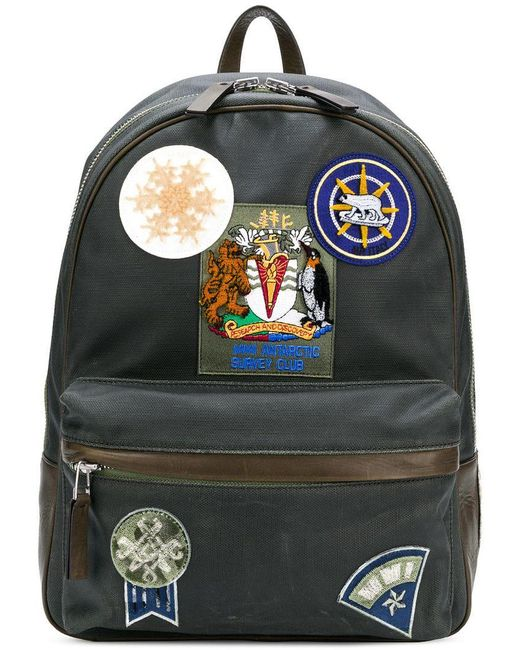 ... the best attitude ae612 d88f6 Mr Mrs Italy - Gray Patch-appliquéd  Backpack for Men  hot sale online f7ece 83ff8 Dolce Gabbana Backpacks Bum  ... e6f186945c