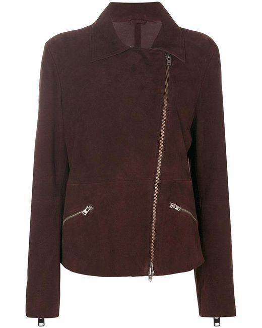 Closed | Brown Classic Biker Jacket | Lyst