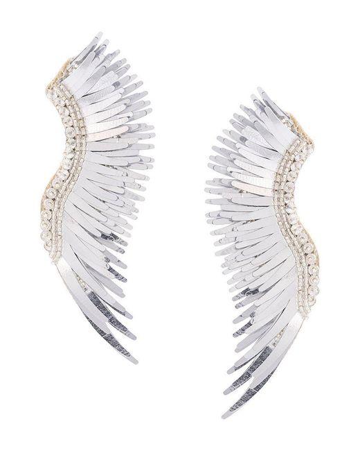 Mignonne Gavigan - Gray Oversized Cuff Earrings - Lyst
