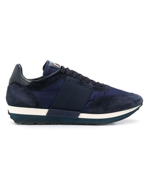 0cecea2d2 Moncler Horace Sneakers in Blue for Men - Save 2% - Lyst