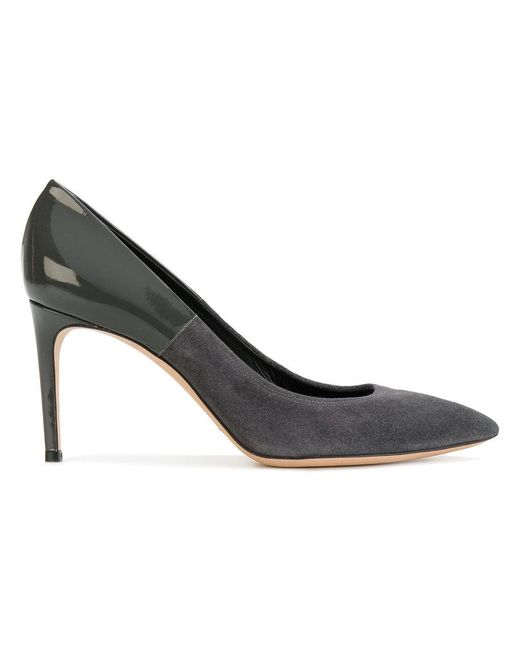 Casadei | Gray Two-tone The Perfect Pump Pumps | Lyst