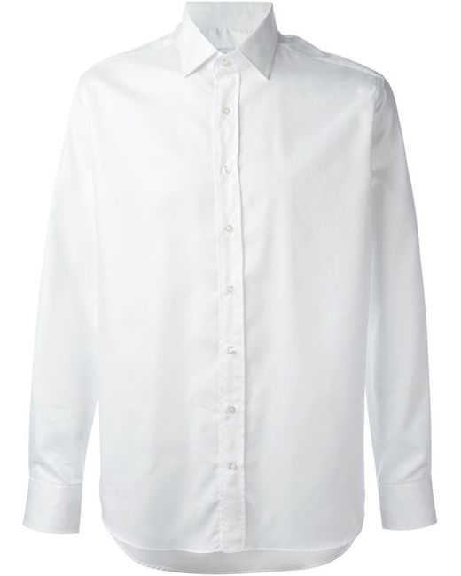Etro | White Classic Shirt for Men | Lyst