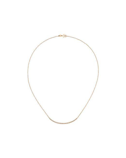 Wouters & Hendrix   Metallic Champagne Diamond Pavé Necklace   Lyst