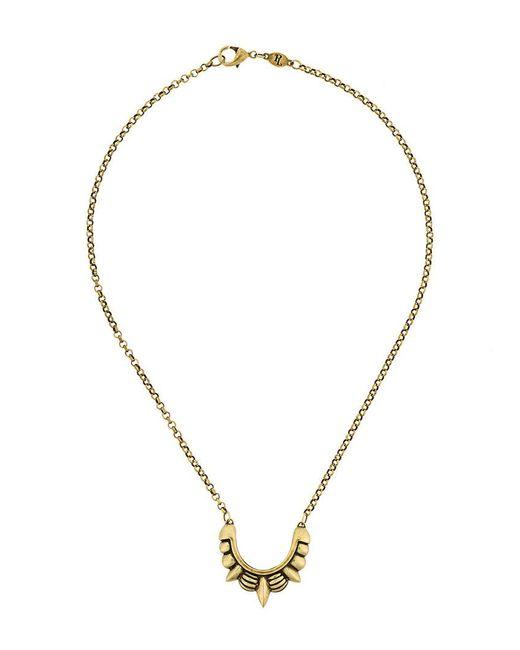 Pamela Love - Metallic Spike Necklace - Lyst