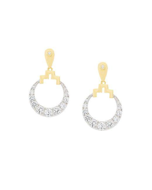 V Jewellery - Metallic Bianca Earrings - Lyst