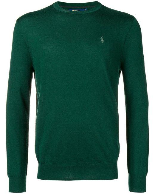 5577cfe8faf4a Polo Ralph Lauren - Green Classic Fit Jumper for Men - Lyst ...