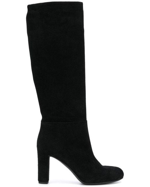 Roberto Del Carlo - Black Knee Length Boots - Lyst