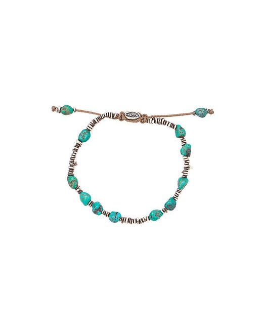 M. Cohen | Blue Beaded Bracelet for Men | Lyst