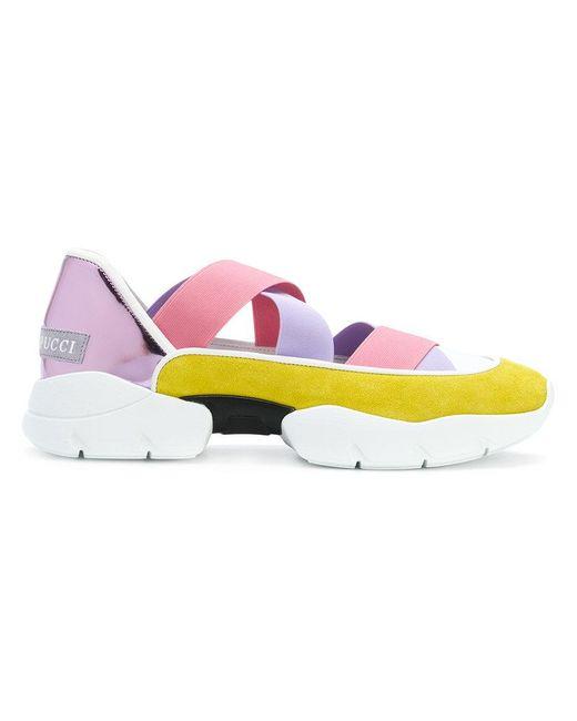 Emilio Pucci - Multicolor Sneakers `cityup` - Lyst