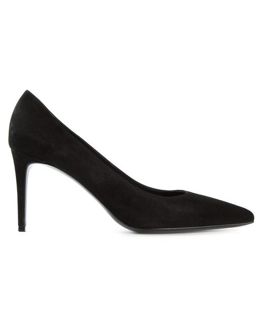 Saint Laurent | Black 'paris' Pumps | Lyst