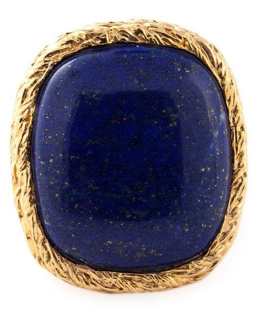 Aurelie Bidermann | Blue 'miki Dora' Signet Ring | Lyst