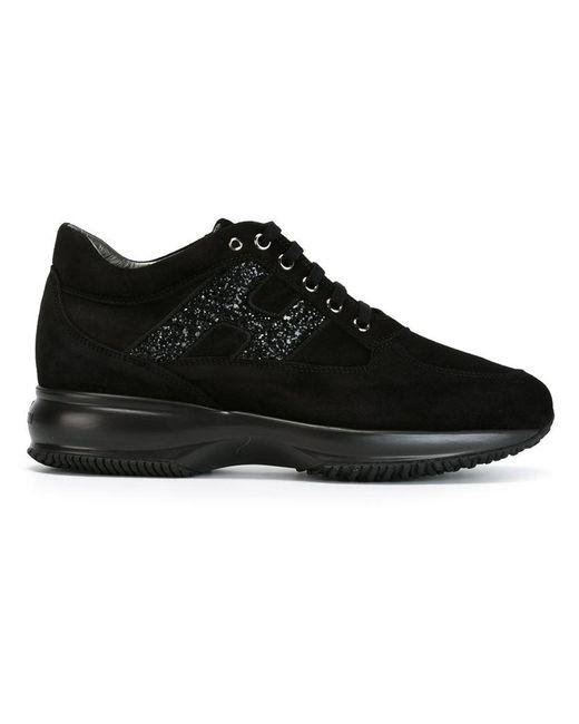 Hogan - Black 'interactive' Sneakers - Lyst