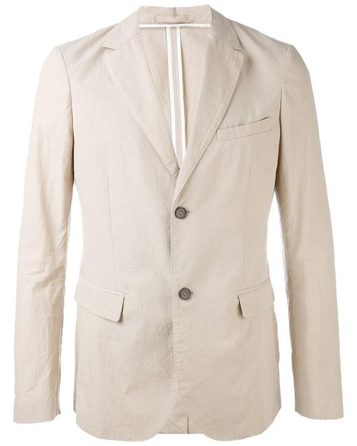 Paolo Pecora - Natural Flap Pockets Blazer for Men - Lyst
