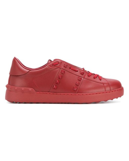 Valentino - Red Garavani Rockstud Untitled Sneakers for Men - Lyst