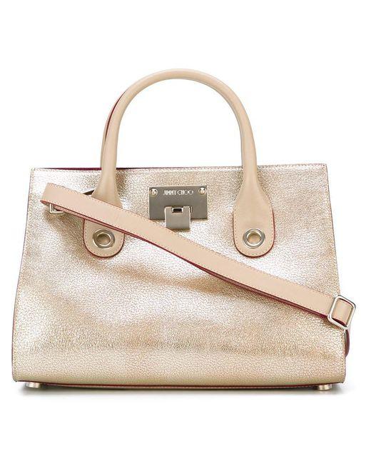 Jimmy Choo | Pink Riley Tote Bag | Lyst