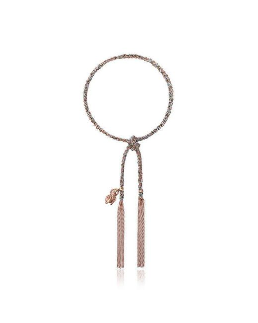 Carolina Bucci - Metallic Lucky Strength Charm Bracelet - Lyst