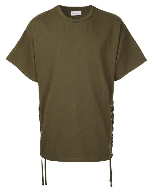 Faith Connexion - Green Laced T-shirt - Lyst