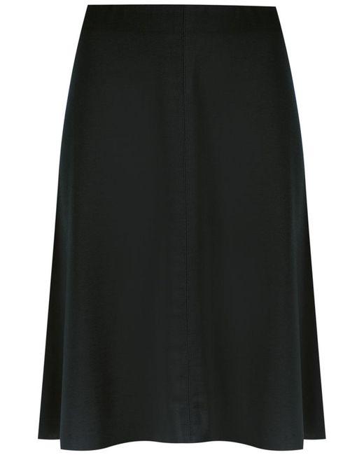 Osklen | Black Flare Skirt | Lyst