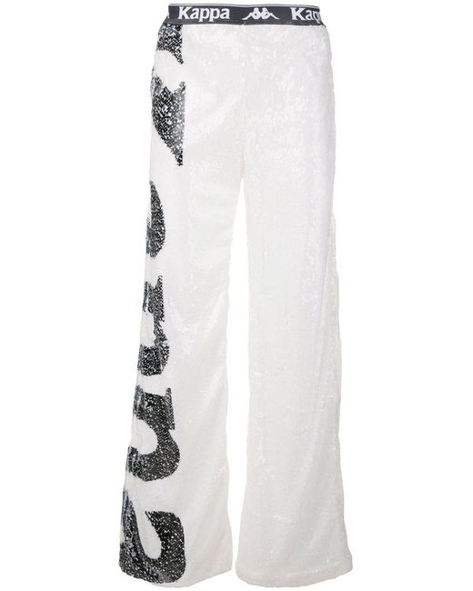 Faith Connexion - White Sequinned Track Pants for Men - Lyst