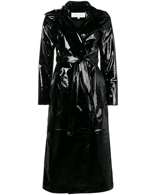 Skiim - Black Karla Trench Coat - Lyst