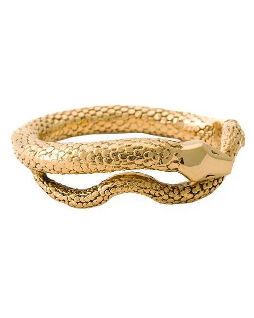 Aurelie Bidermann - Metallic 'tao' Snake Bracelet - Lyst