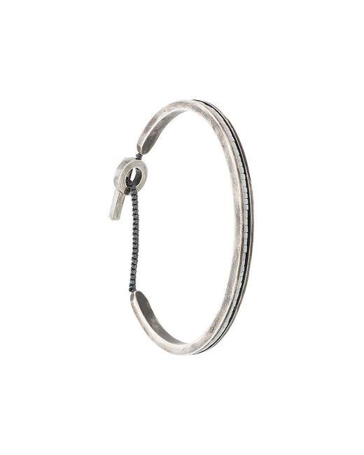 M. Cohen - Metallic Bangle Bracelet - Lyst