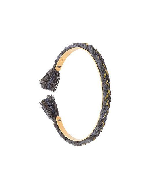 Aurelie Bidermann   Metallic Braided Bracelet   Lyst