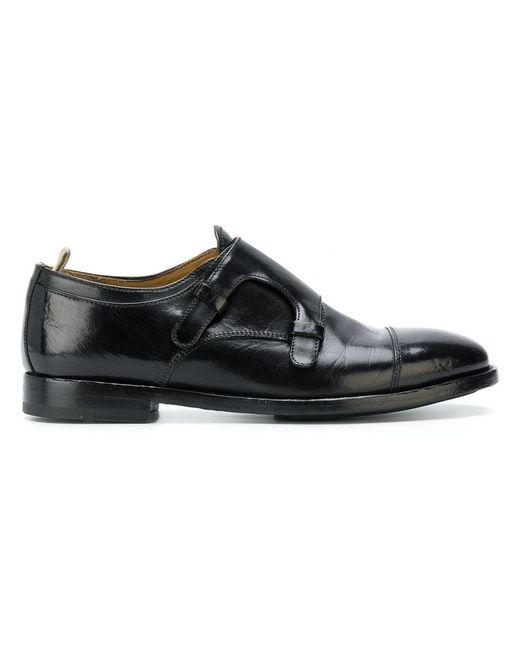 Officine Creative - Black Sandie Double-monk Shoes for Men - Lyst