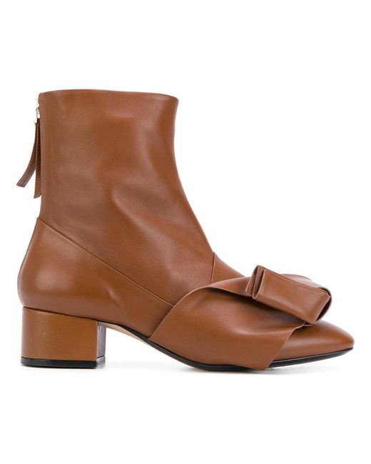 N°21 | Brown Ankle Boots | Lyst