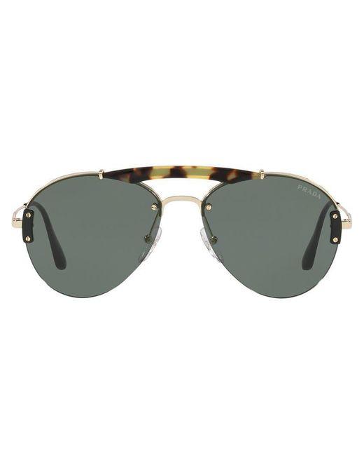 a129d3305ff9 Prada - Brown Havana 0pr 62us Pilot Sunglasses for Men - Lyst ...