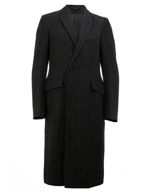Ann Demeulemeester - Black Long Blazer Coat for Men - Lyst