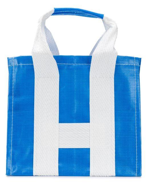 Comme des Garçons - Blue Large Canvas Tote Bag for Men - Lyst
