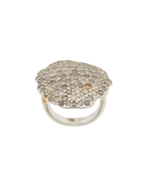 Rosa Maria - Metallic Monard Ring - Lyst