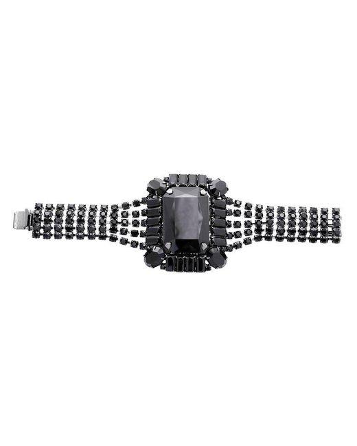 Tom Binns - Black Square Gem Crystal Bracelet - Lyst