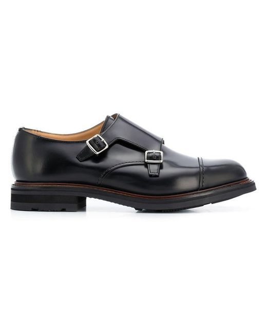 Church's - Black 'Wadebridge' Schuhe for Men - Lyst