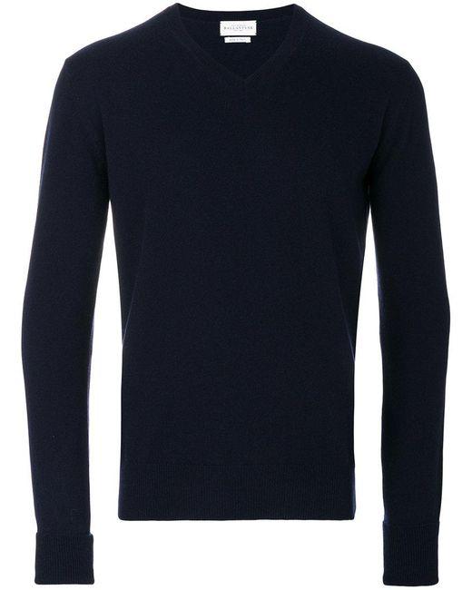 Ballantyne - Blue V-neck Jumper for Men - Lyst